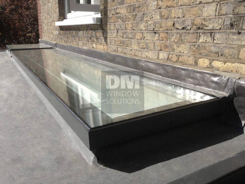 Aluminium Flat Roof Windows Skylights And Rooflights Dm