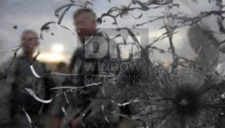 Bullet proof window