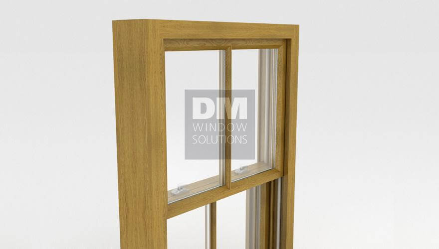 Traditional Wooden Box Sash Windows South West London