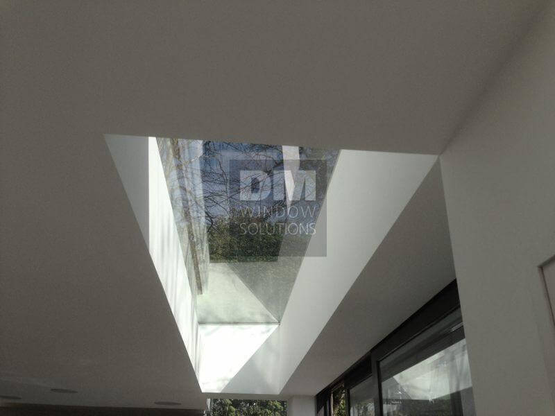 Flat Glass Roof Light