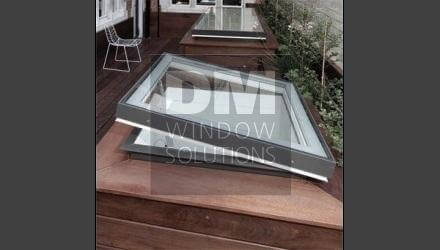 Opening Flat Roof Window