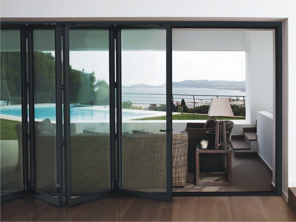 Cortizo Bi-folding Doors
