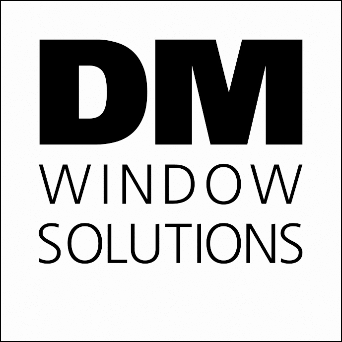 DM Window Solutions Logo White