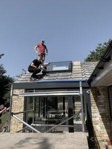 Skylight Installation