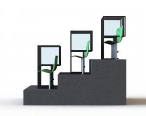 Stadium Social Distancing Screens